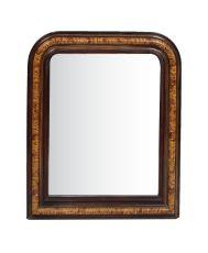 Louis Philippe Faux Bois Mirror