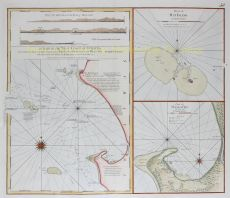 A Chart of the West Coast of Sumatra by Laurie and Whittle