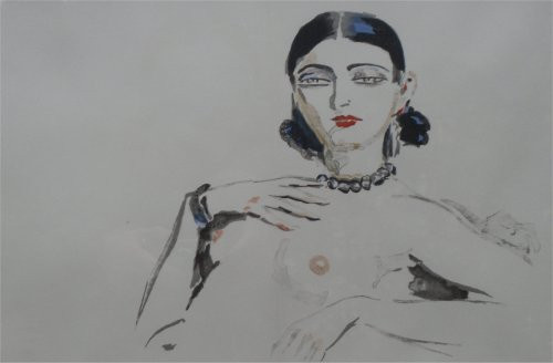 Odalisque by Kees van Dongen