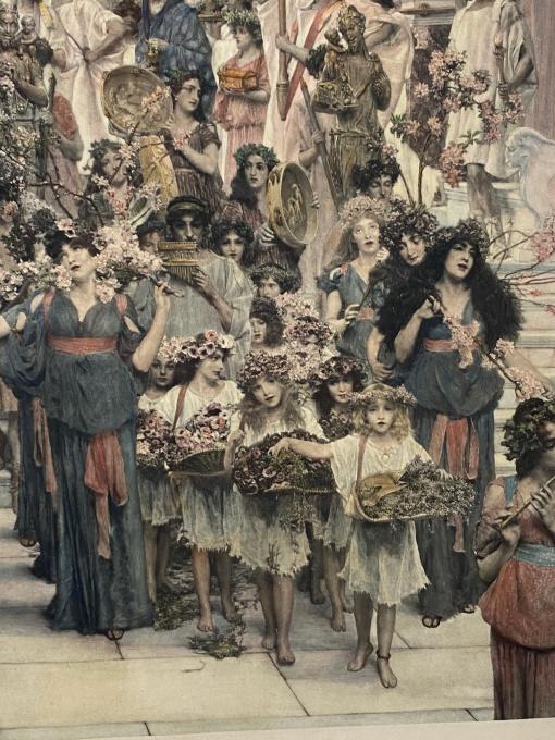 Spring by Lawrence Alma-Tadema