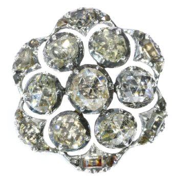 18th Century diamond button by Unknown Artist