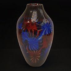 Art nouveau vase by Vittorio Ferro