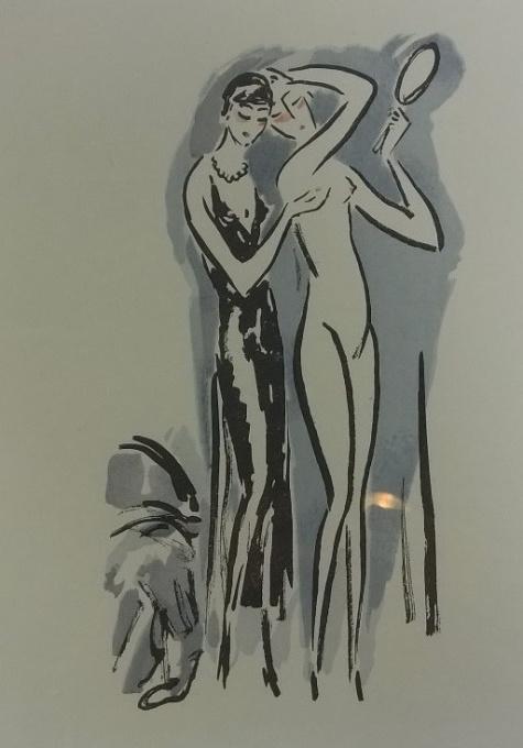 'Twee vrouwen' by Kees van Dongen