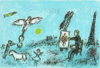 Le Peintre et son Double by Marc Chagall