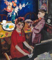 Musicerende Kinderen by Jan Sluijters