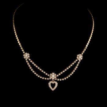 Garlands necklace by Unknown Artist