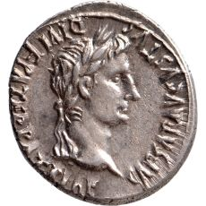 AR Denarius Augustus (27 BC-14 AD) by Unknown Artist