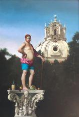 Stilita Romano  by Giovanni Tommasi Ferroni