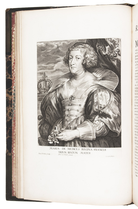 "Anthony van Dyck's celebrated ""Iconography"", with 125 portraits, including 13 etched by himself by Anthony van Dyck"