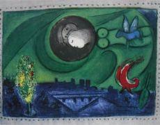 Quai de Bercy by Marc Chagall