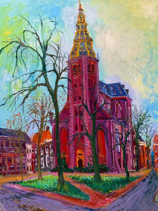 Der AA Kerk Groningen by Gertjan Scholte-Albers