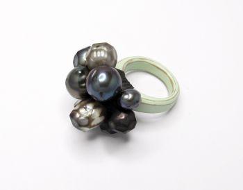 Ring ' Blacks Mix' by Terhi Tolvanen