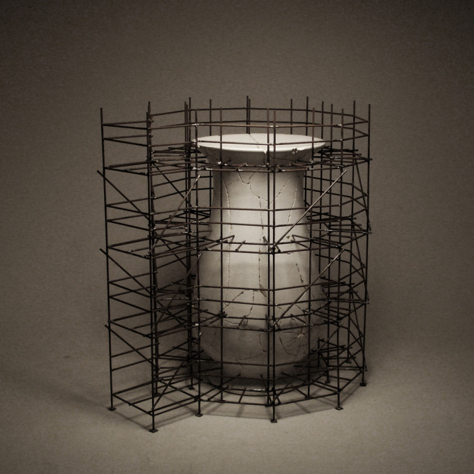 Broken Vase by Wieland Vogel