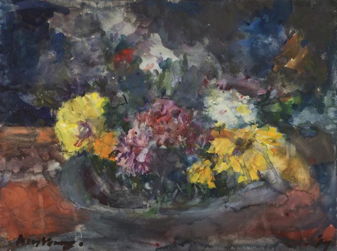 Flowers by Kees Verwey