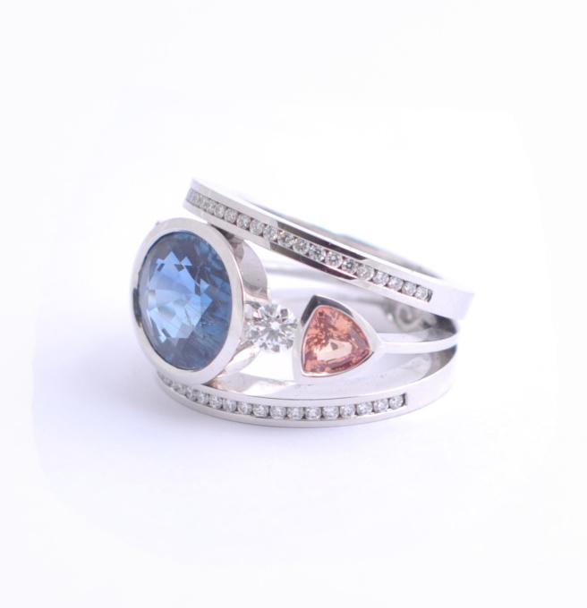 Sapphire Ring by Puck Eigenmann