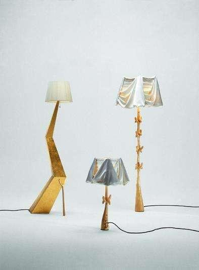 Cajones lamp - Sculpture by Salvador Dali