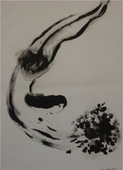 The Offering by Marc Chagall