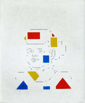 "Lon ', granddaughter of the artist "" by Bart Van Der Leck"