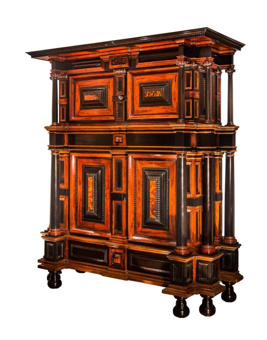A rare cupboard attributed to Herman Doomer by Herman Doomer