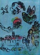 Nocturne à Vence by Marc Chagall