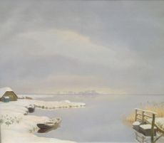 Winter, Loosdrechtse plassen
