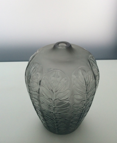 A small and rare vase 'Tournai' by René Lalique