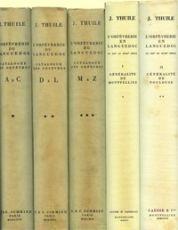 L'Orfevrerie du Languedoc. Repertoire des Orfevres depuis le Moyen-Age jusqu'au debut des XIXe siecle. (5 volumes) by Various artists