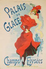 Palais de Glace by  Jules  Cheret,
