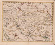 Kaart van Persie by Valentyn, Francois (1666-1727)