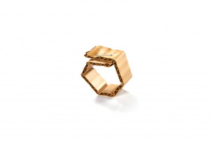 Ring 'Cardboard' by David Bielander
