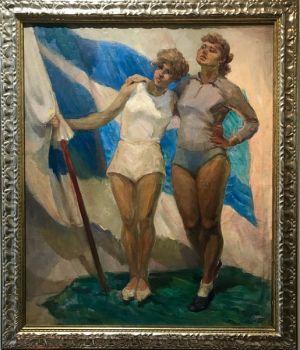 Sportswomen of Dynamo by Arkadiy Pavliuk