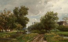 Dutch landscape by Jan Willem van Borselen