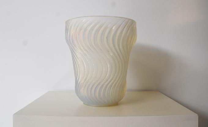 Vase Actinia by René Lalique