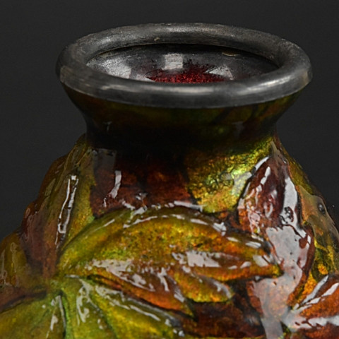 Art nouveau vase from Faure by Camille Fauré