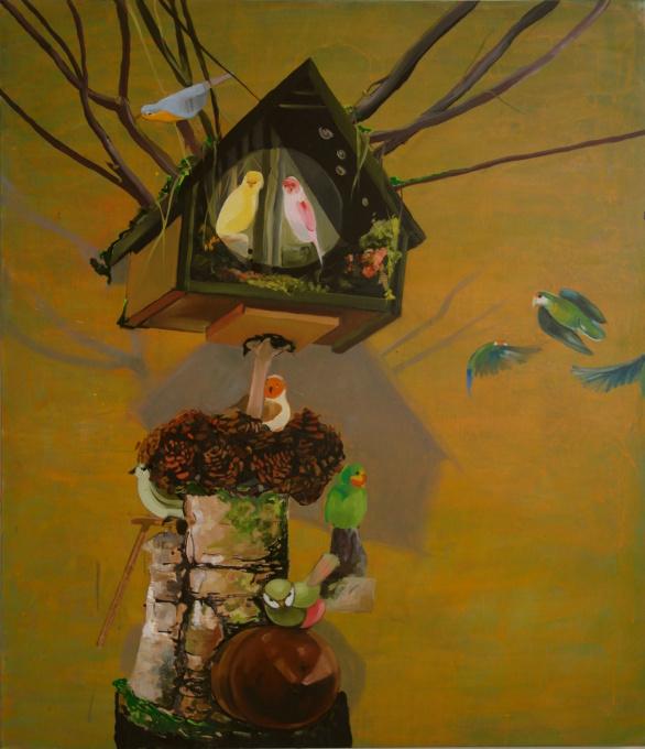 Het wonderlijke vogelhuisje by Siebrand Weitenberg