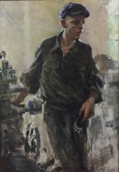 Young worker by Arkadiy Pavliuk