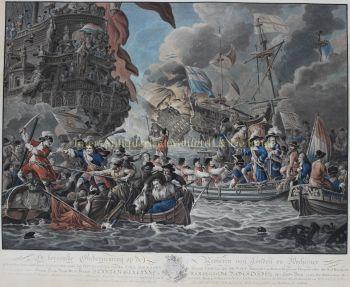 De tocht naar Chatham / Raid on the Medway  by  Matthias de Sallieth naar Dirk Langendijk