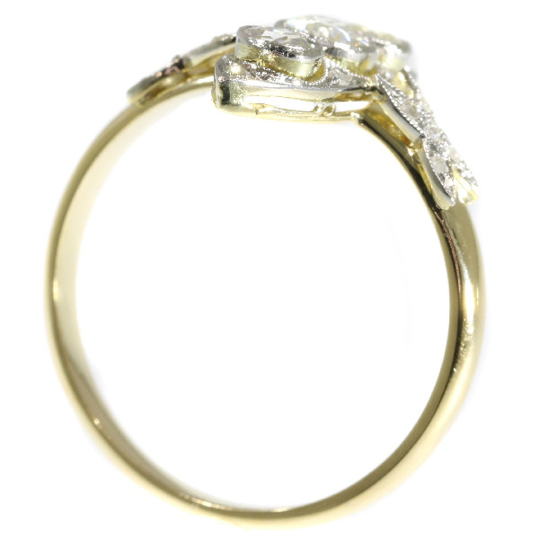 Antique diamond ring from the Belle Epoque era by Unknown