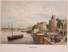 Amsterdam, Oosterdok  by  Frans Buffa & Zn.