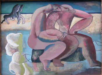 """no title (""""BEACH GALLOP"""") by Wim Kersten"""