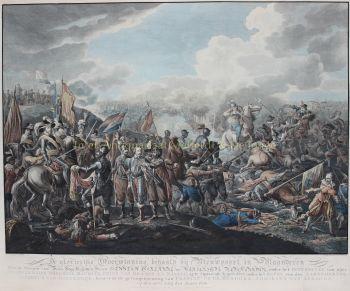 Slag bij Nieuwpoort  by  Matthias de Sallieth naar Dirk Langendijk