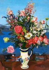 Composition florale by Léon de Vos