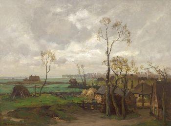 Landscape in Summer by David Schulman
