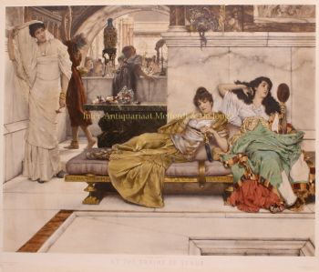 At the Shrine of Venus  by Lawrence Alma-Tadema