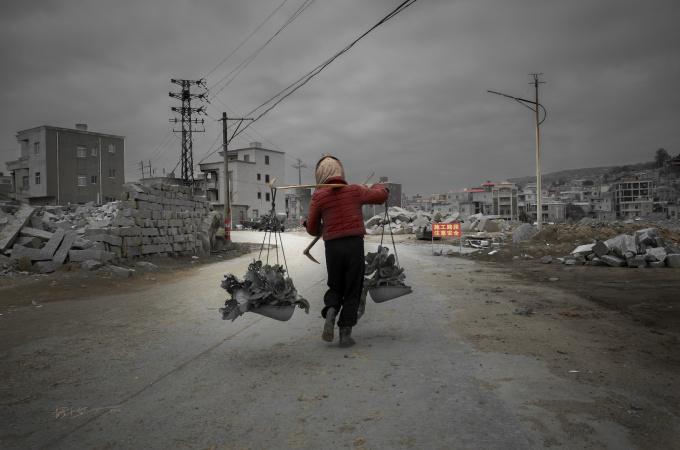 'Tough Labour' by Zhong Qin