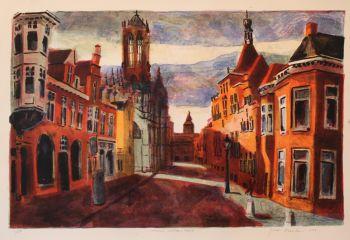 Utrecht, Voetiusstraat by Jeroen Hermkens