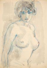 Female Nude by Jan Sluijters