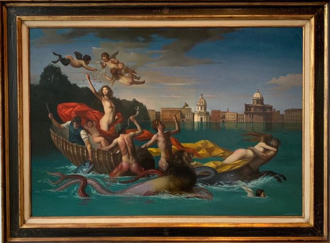 Il Trionfo de Galatea - Oil on Canvas - In Stock by Giovanni Tommasi Ferroni