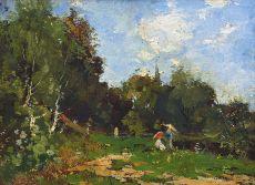 The Picknick by Theophile de Bock