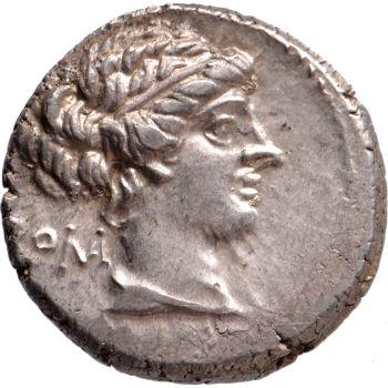 AR Denarius M. Porcius Cato 89 BC by Unknown Artist
